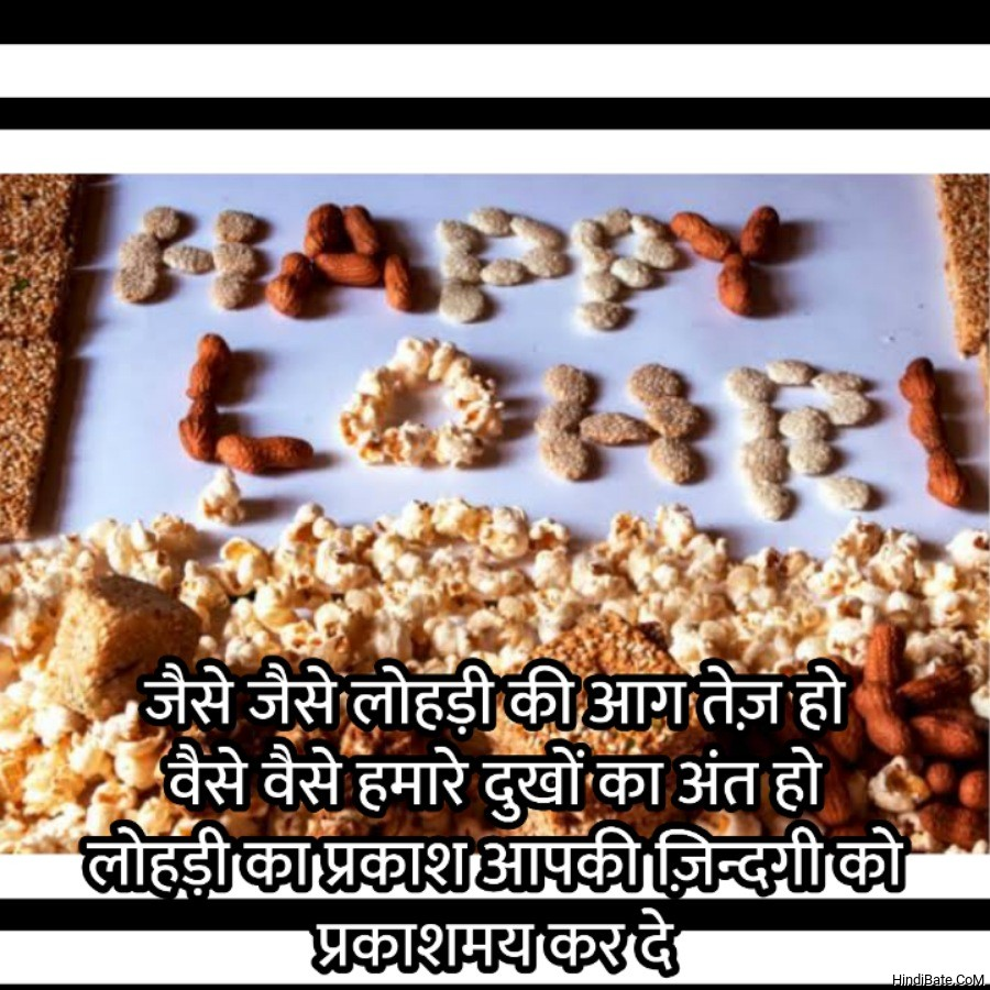 Lohari Wishes With Images in Hindi