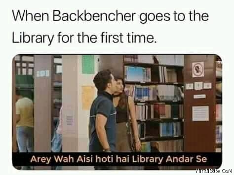 Backbenchers Memes in Hindi