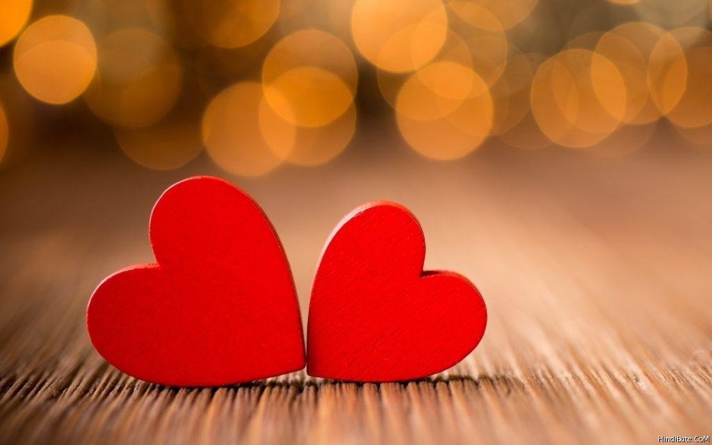Beautiful colourful love