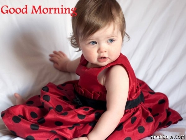 Good Morning Cute Kids Images for whatsapp