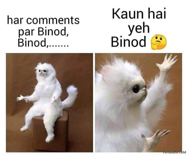 Binod Memes in Hindi