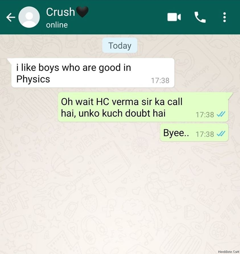Crush Memes in Hindi