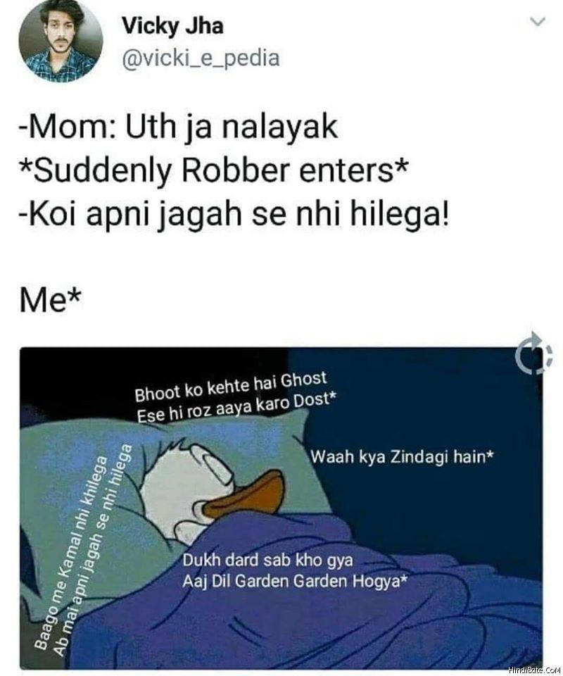 Donald Duck Memes in Hindi