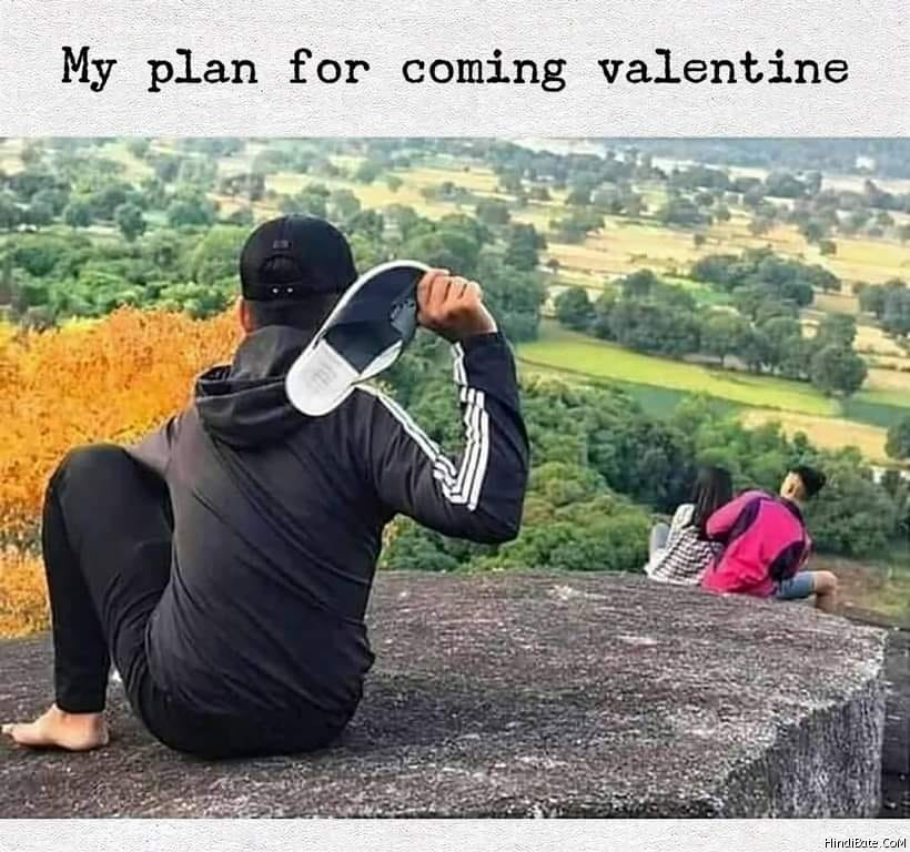 Valentines Day Memes in Hindi