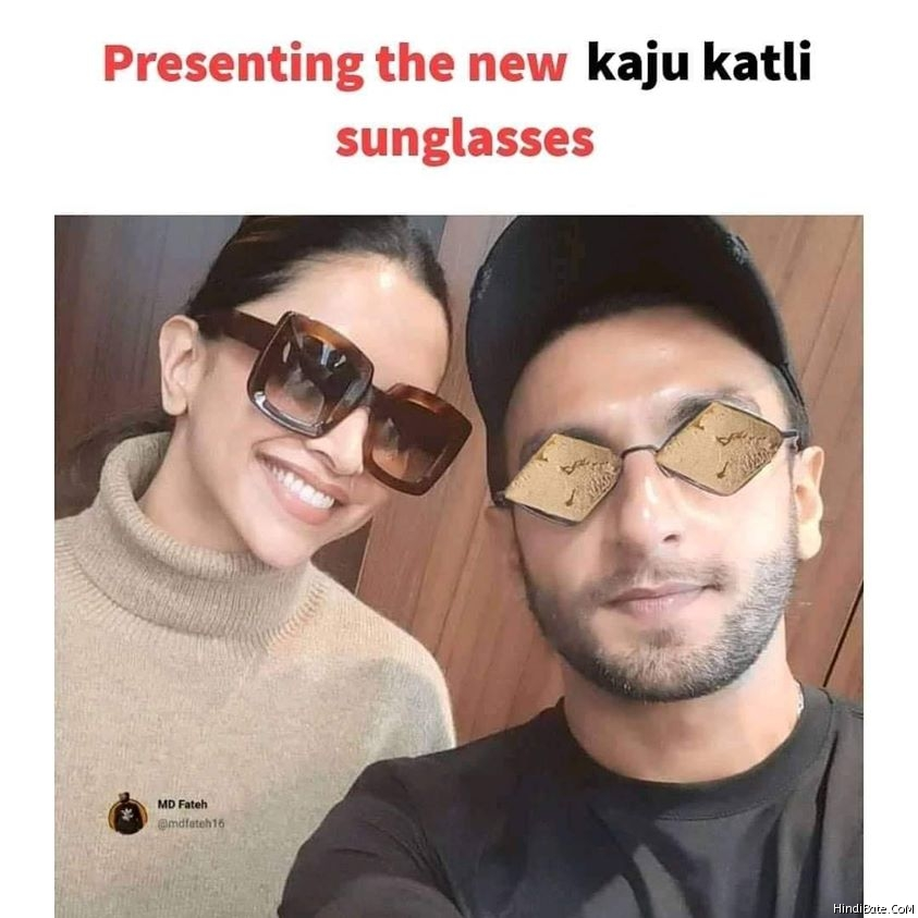 Presenting the new kaju katli sunglasses