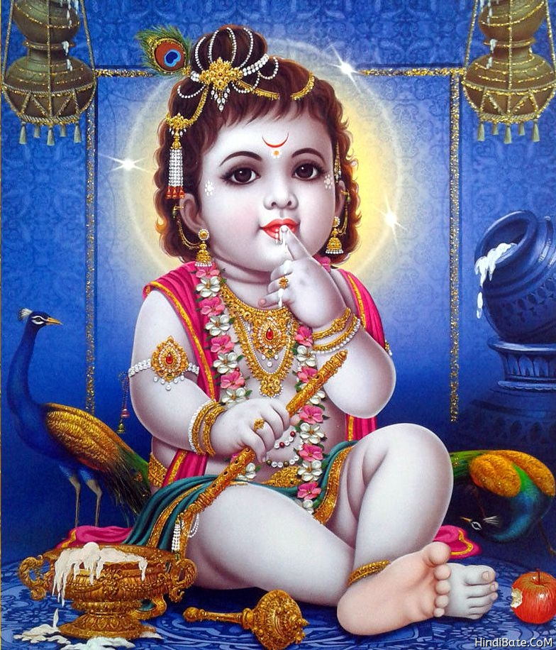 Shri Krishna cute image