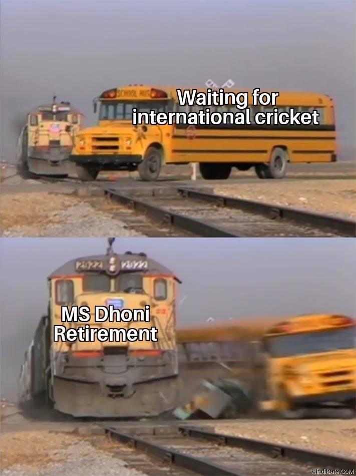MS Dhoni Retirement Memes
